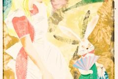 Alice's Adventures in Wonderland - illustrations by Leonard Weisgard