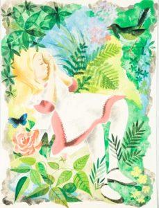 Alice in Wonderland, illustrations by Leonard Weisgard