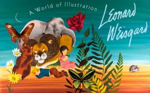"""Leonard Weisgard A World of Illustration"" On the occasion of The IBBY World Congress in Copenhagen Galleri Guggen presented a special exhibition of Caldecott award-winning children's book illustrator, Leonard Weisgard"