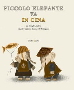 Piccolo Elefante va in Cina - Illustration by Leonard Weisgard