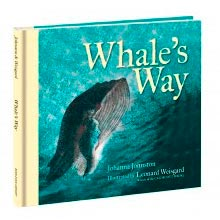 Whale's Way Penguin's Way by Johanna Johnston with illustrations by Leonard Weisgard published by The Bodleian Library Oxford UK