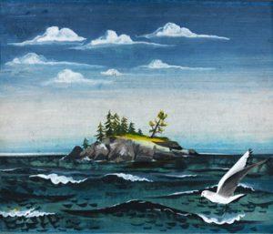 Caldecott Acceptance Speech - July 2, 1947 For The Little Island, By Golden MacDonald Illustrated by Leonard Weisgard