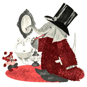 Brave Baby Elephant Sesyle Joslin,illustrationsbyLeonard Weisgard